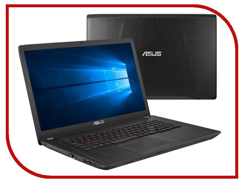 Ноутбук ASUS ROG FX753VD-GC456T 90NB0DM3-M08780 Black-Metal (Intel Core i5-7300HQ 2.5 GHz/6144Mb/1000Gb + 128Gb SSD/No ODD/nVidia GeForce GTX 1050 2048Mb/Wi-Fi/Cam/17.3/1920x1080/Windows 10 64-bit) ноутбук hp omen 17 an016ur 2cm05ea black intel core i5 7300hq 2 5 ghz 6144mb 1000gb dvd rw nvidia geforce gtx 1050 2048mb wi fi bluetooth cam 17 3 1920x1080 windows 10 64 bit
