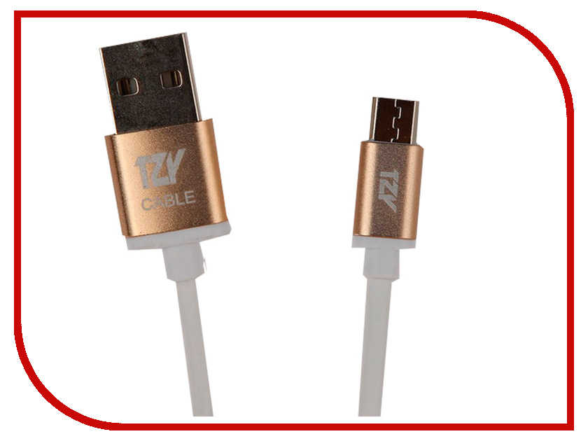Аксессуар BYZ TZY TL-315 USB - MicroUSB White goodyear marathon lhd ii 315 80r22 5 156l tl