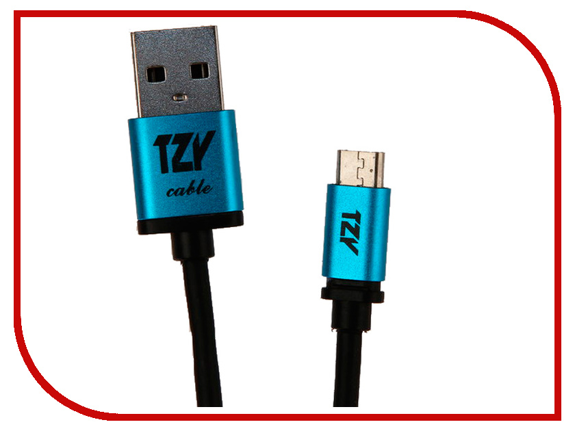 Аксессуар BYZ TZY TL-315 USB - MicroUSB Black byz ys 032 black