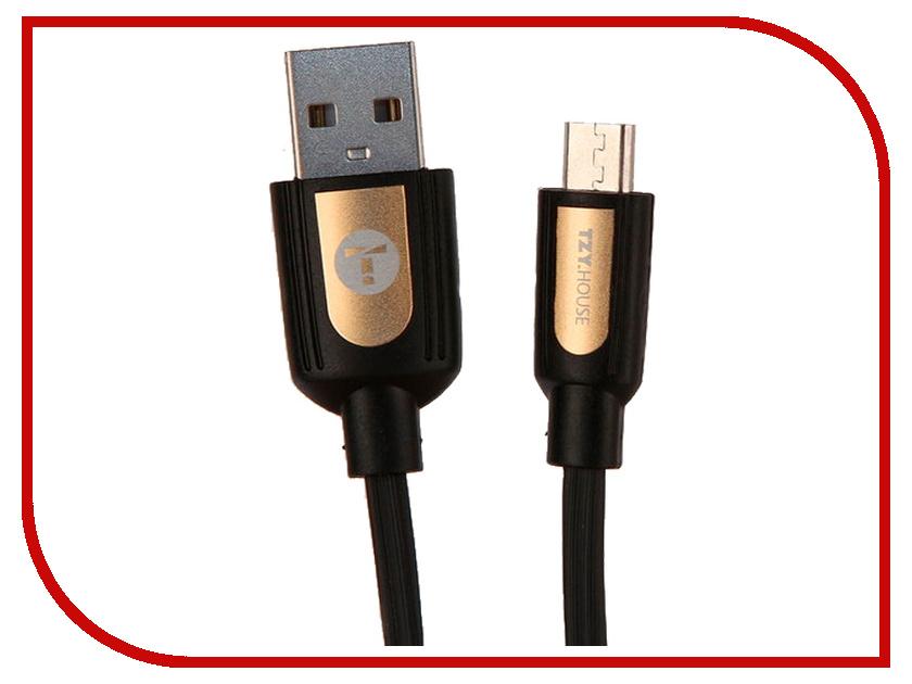 Аксессуар BYZ TZY TL-365 USB - MicroUSB Black byz ys 032 black