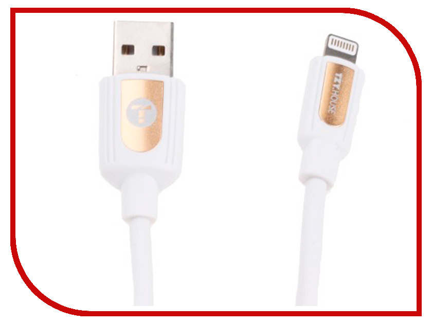 Аксессуар BYZ TZY TL-368 USB - Lightning White byz tzy e 166 white