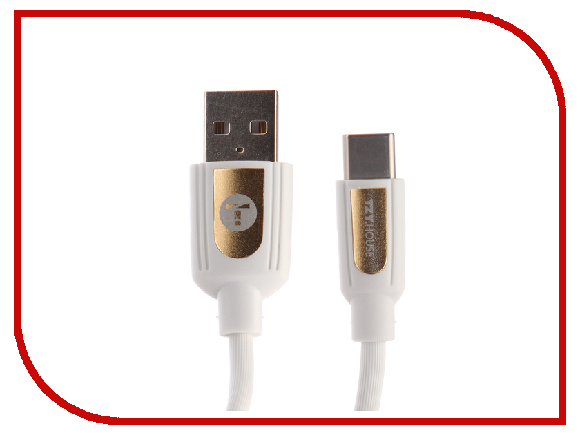 Аксессуар BYZ TZY TL-369 USB - Type-C White orico aluminum usb type c male to micro 2 0 cable female charge data adapter for nokia n1 tablet macbook pc