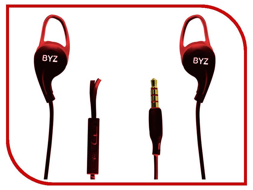BYZ SE-1100 Red наушники pioneer se e511