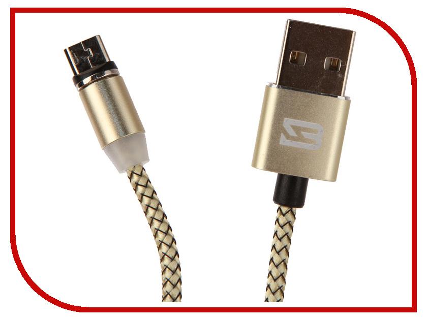 Аксессуар BYZ BC-001 USB - MicroUSB Gold цена