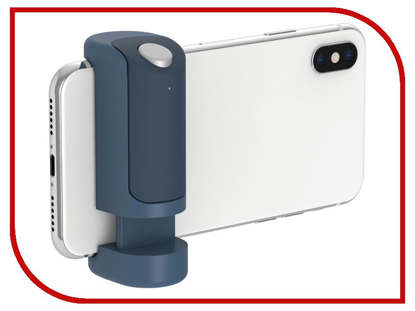 Держатель Just Mobile ShutterGrip Blue GP-100BL 5200mah mini rechargeable mobile power bank for cellphone tablet pc more blue white