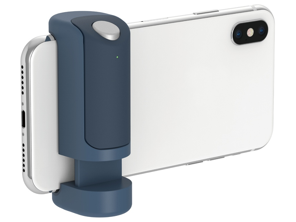 Держатель Just Mobile ShutterGrip Blue GP-100BL