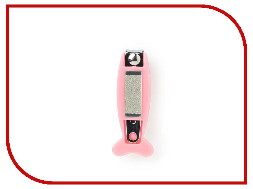 Щипчики для ногтей Farlin BF-160D Pink двойная кисть для теней artdeco двойная кисть для теней