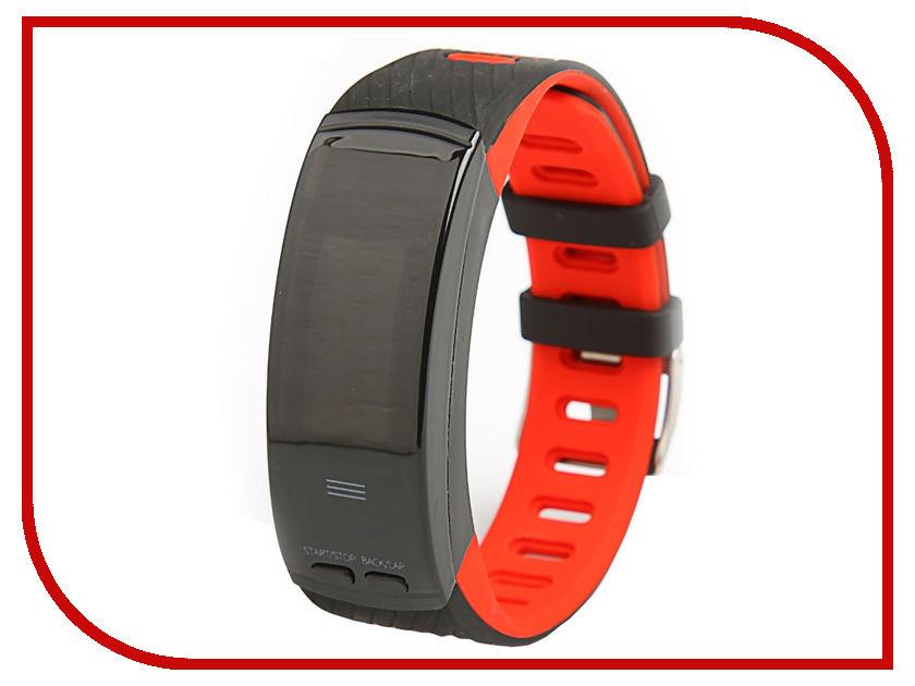 Фото - Умный браслет Qumann QSB X Red-Black фитнес браслет qumann qsb x black red