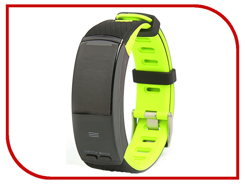 Умный браслет Qumann QSB X Green-Black uitrafire wf 501b 5mw green laser flashlight black 1 x 16430