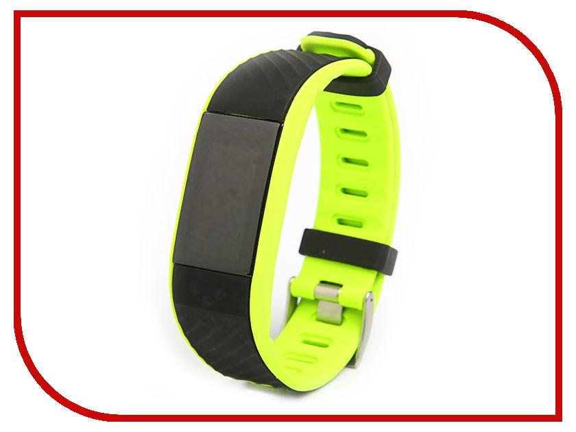 все цены на Умный браслет Qumann QSB 12 Green-Black онлайн
