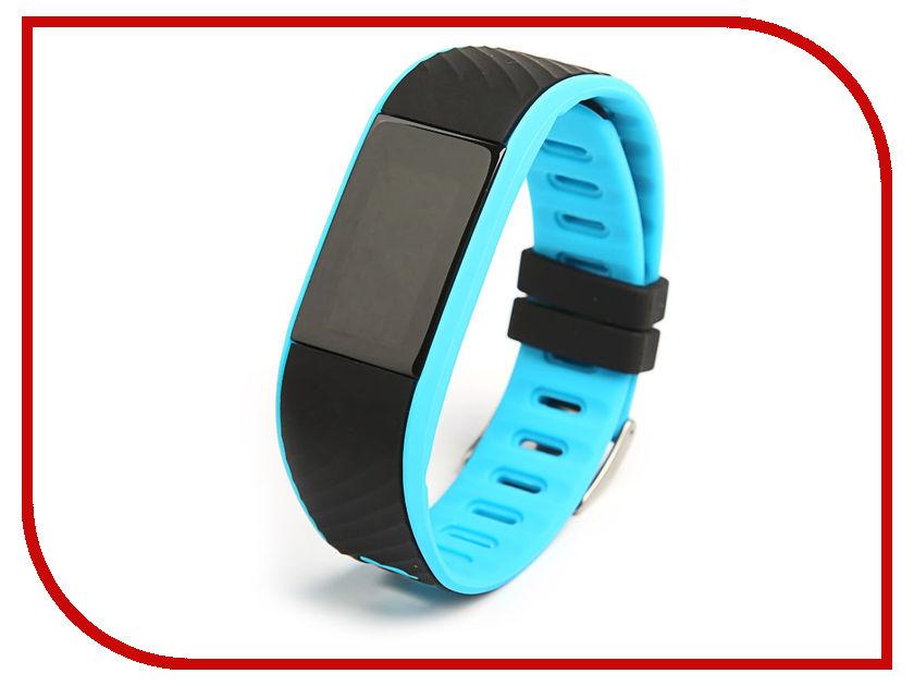 все цены на Умный браслет Qumann QSB 12 Blue-Black онлайн