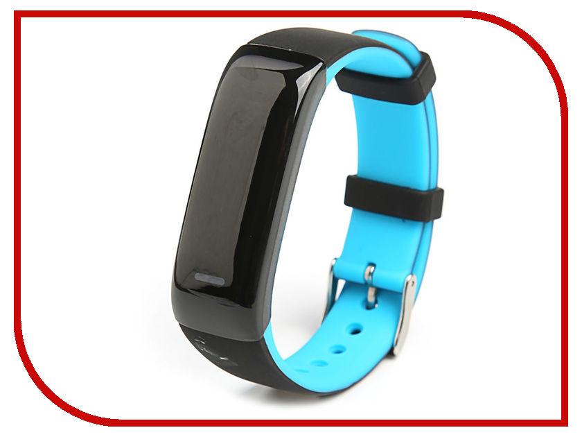 все цены на Умный браслет Qumann QSB 09 Blue-Black онлайн
