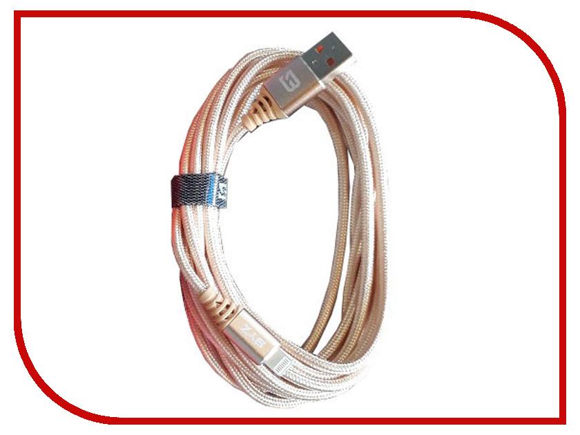 Аксессуар BYZ BC-090 USB - Lightning Gold byz yb 012 gold