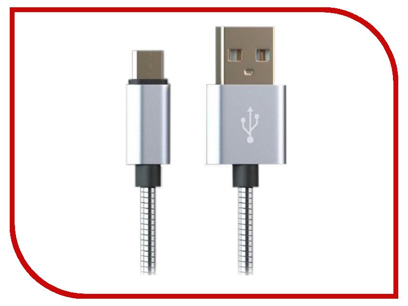 Аксессуар Qumann USB - Lightning / microUSB 1m Silver 20221 аксессуар qumann type c 1m silver 20301