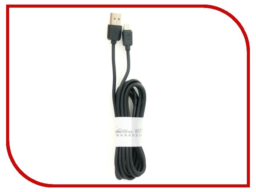Аксессуар BYZ BL-601s USB - MicroUSB 2.0m Black byz ys 032 black