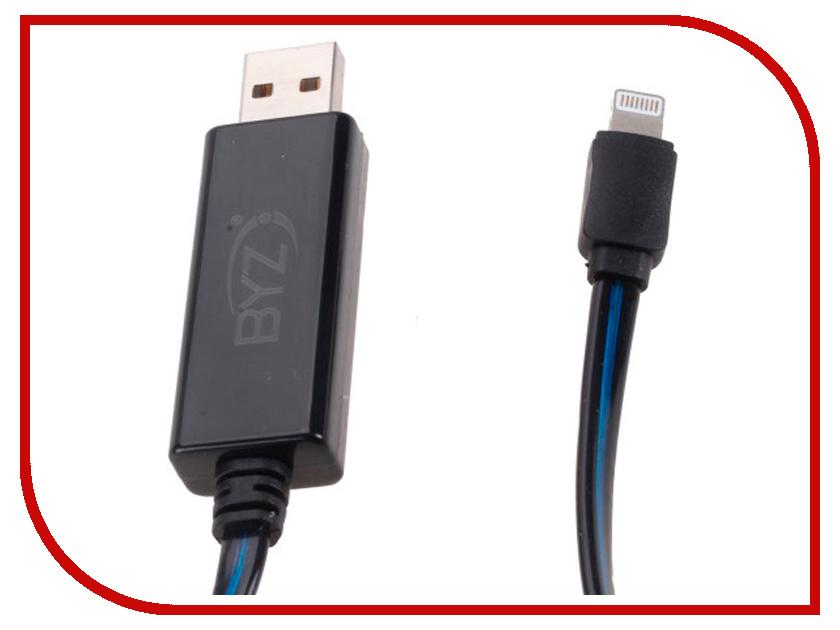 Аксессуар BYZ BL-636 USB - Lightning Black byz ys 032 black