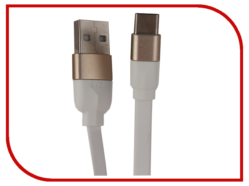 Аксессуар BYZ BL-659 USB - Type-C White orico aluminum usb type c male to micro 2 0 cable female charge data adapter for nokia n1 tablet macbook pc