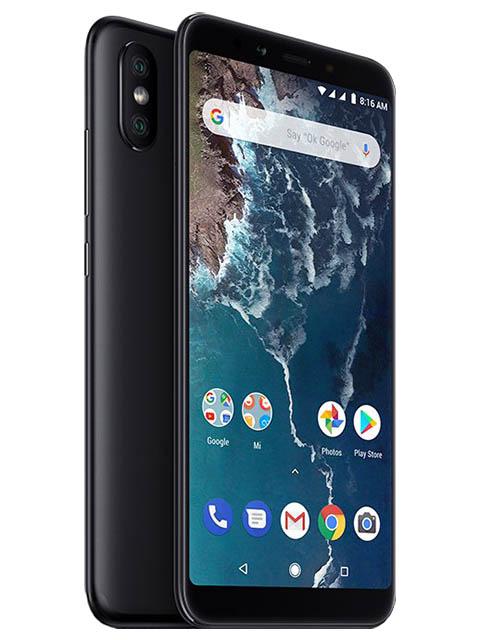 Сотовый телефон Xiaomi Mi A2 4/64GB Black сотовый телефон xiaomi mi a2 4 64gb blue