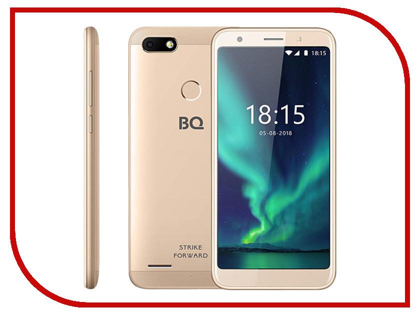 Сотовый телефон BQ 5512L Strike Forward Gold сотовый телефон senseit t100 black
