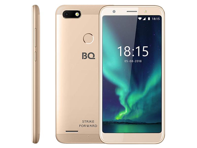 Сотовый телефон BQ 5512L Strike Forward Gold цена и фото