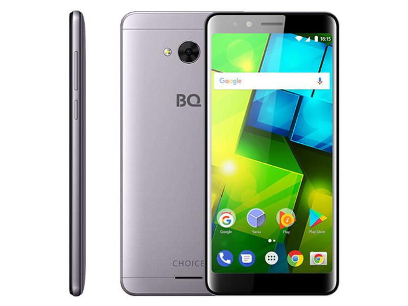 Сотовый телефон BQ 5340 Choice Grey