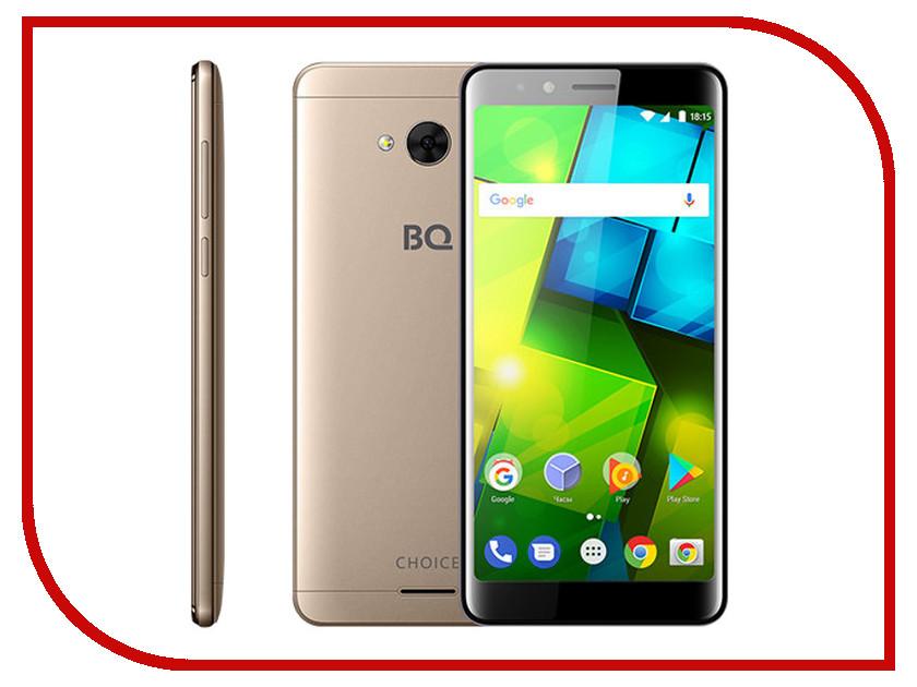 Сотовый телефон BQ 5340 Choice Gold сотовый телефон bq bq 5340 choice black