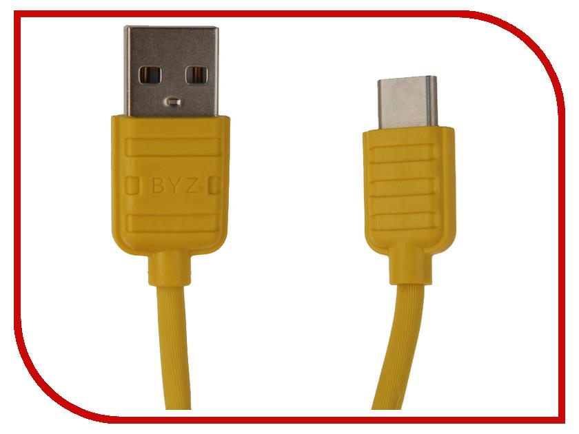 Аксессуар BYZ BL-673 USB - Type-C Yellow мультиварка polarispmc 0527d черный pmc0527d