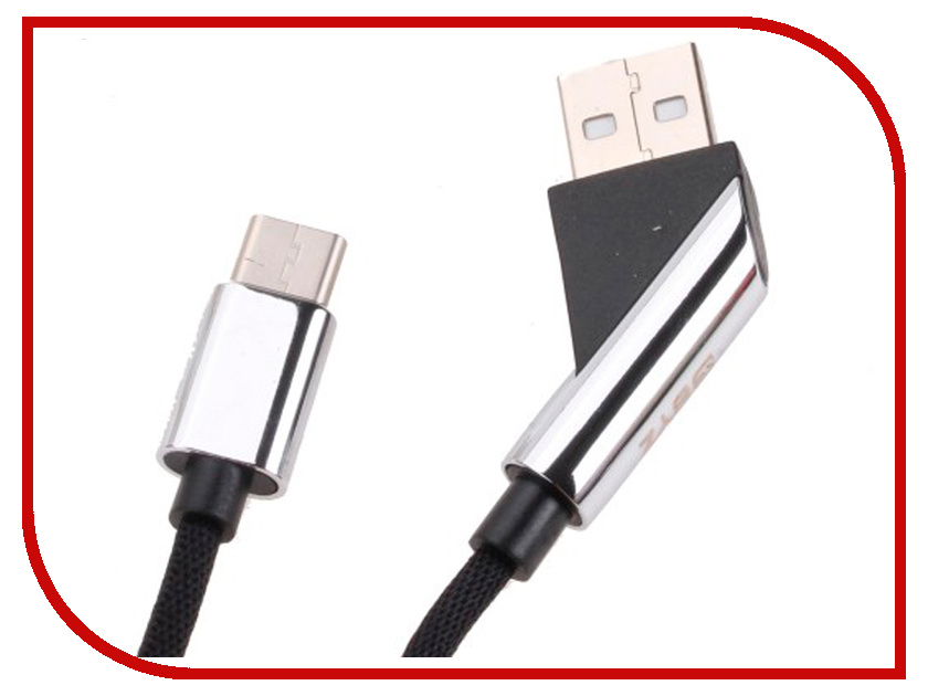 Аксессуар BYZ BL-680 USB - Type-C Black orico aluminum usb type c male to micro 2 0 cable female charge data adapter for nokia n1 tablet macbook pc