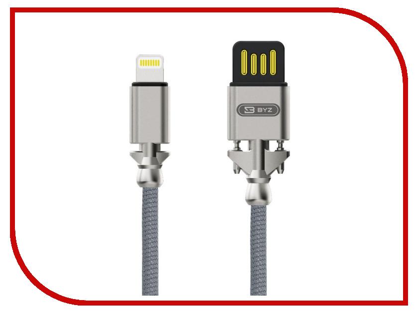 Аксессуар BYZ BL-698 USB - Lightning Silver