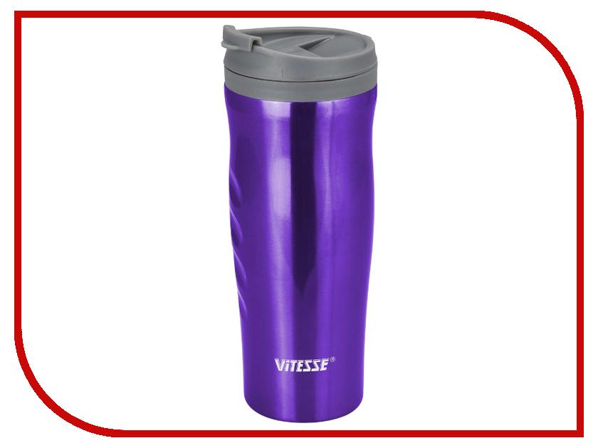 Термокружка Vitesse 540ml VS-2641 Purple биологические relea 540ml вакуумный лайнер для расточной ванны с портативной изоляцией