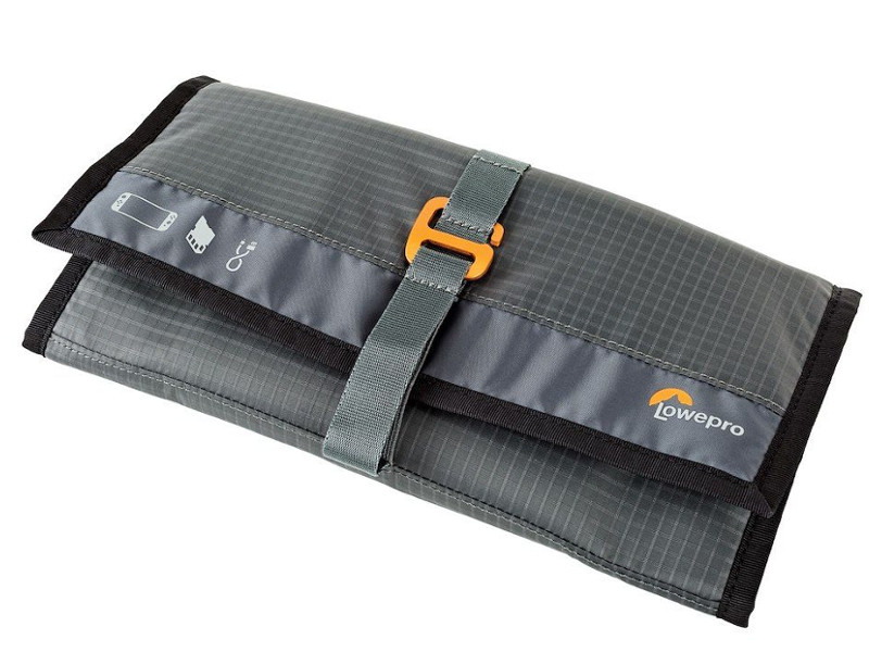 Защитный чехол LowePro GearUp Switch Wrap DLX Grey gun flap detail wrap coat