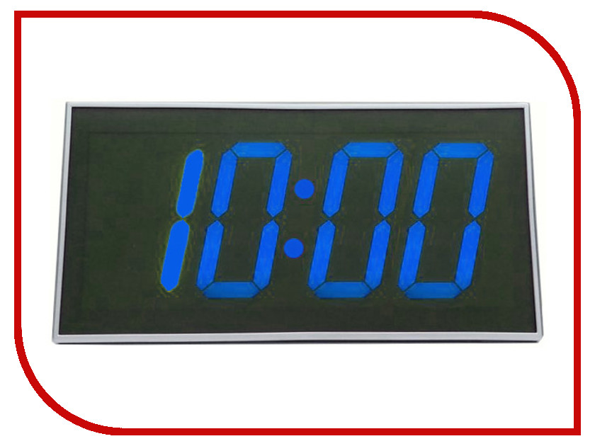 Часы BVItech BV-103BKx Blue-Black настольные часы bvitech bv 412r