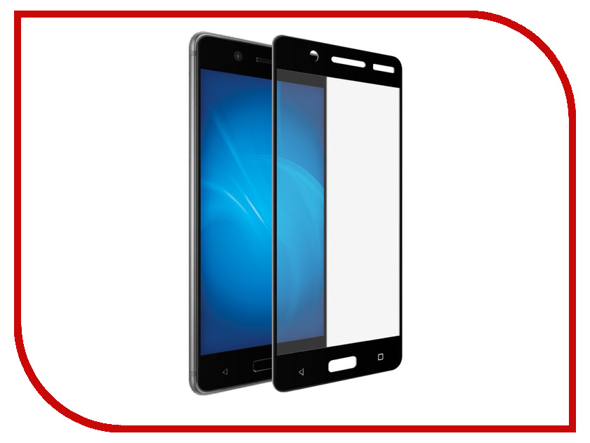 Аксессуар Защитное стекло Nokia 5 Svekla Full Screen Black ZS-SVNO5-FSBL 5 inch black for nokia lumia 830 rm 984 lcd display touch screen with digitizer assembly replacement parts free