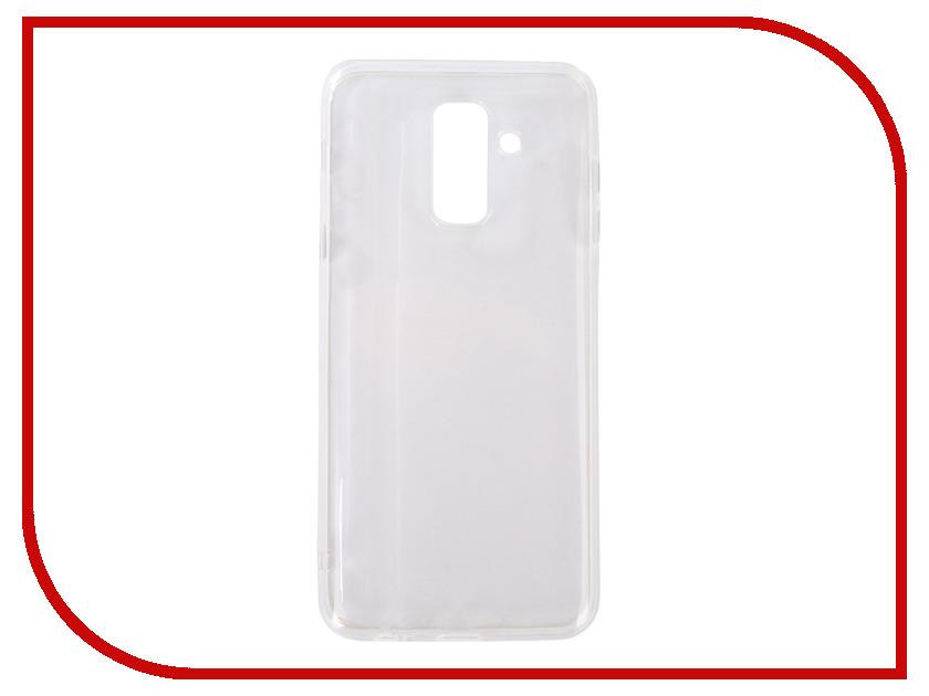 Аксессуар Чехол для Samsung Galaxy J8 J810 Svekla Silicone Transparent SV-SGJ810-WH аксессуар чехол для samsung galaxy a5 2017 onext silicone transparent 70513