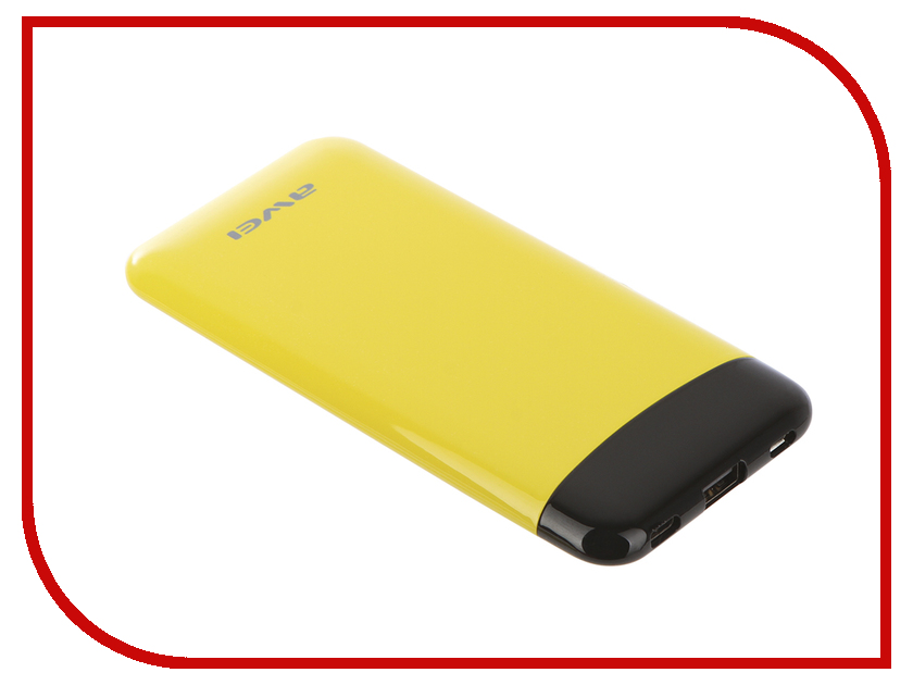 Аккумулятор Awei P68K 10000mAh Yellow-Black 88247 аккумулятор awei p84k blue