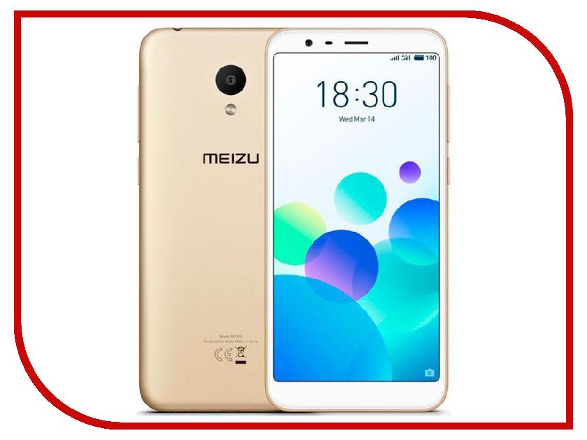 Сотовый телефон Meizu M8c 16Gb Gold телефон