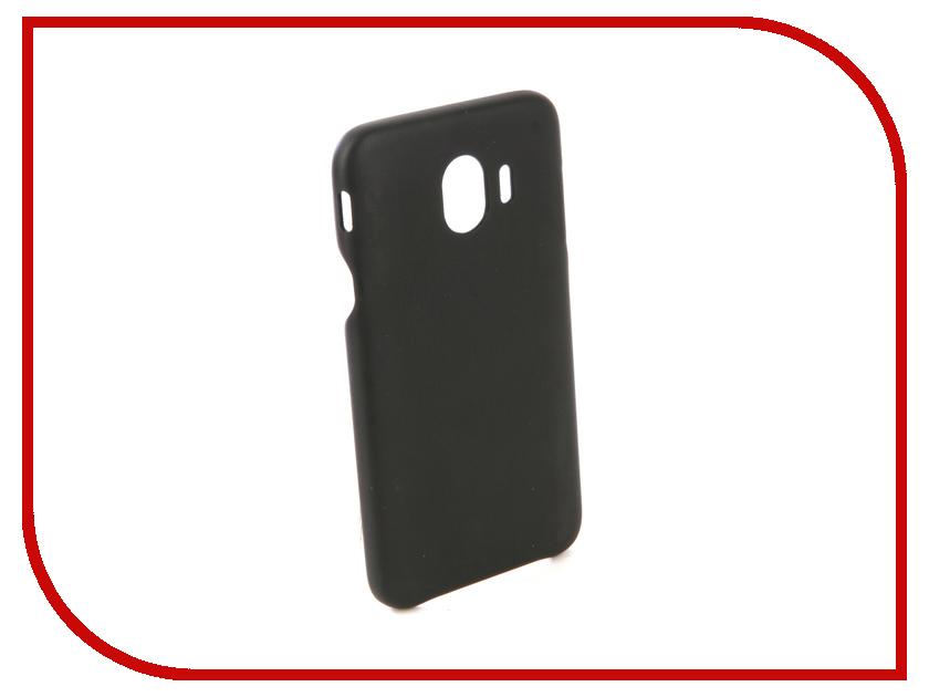 Аксессуар Чехол для Samsung Galaxy J4 2018 G-Case Slim Premium Black GG-960 miniisw c 3 pu leather flip open case w display window for samsung galaxy s5 off white black