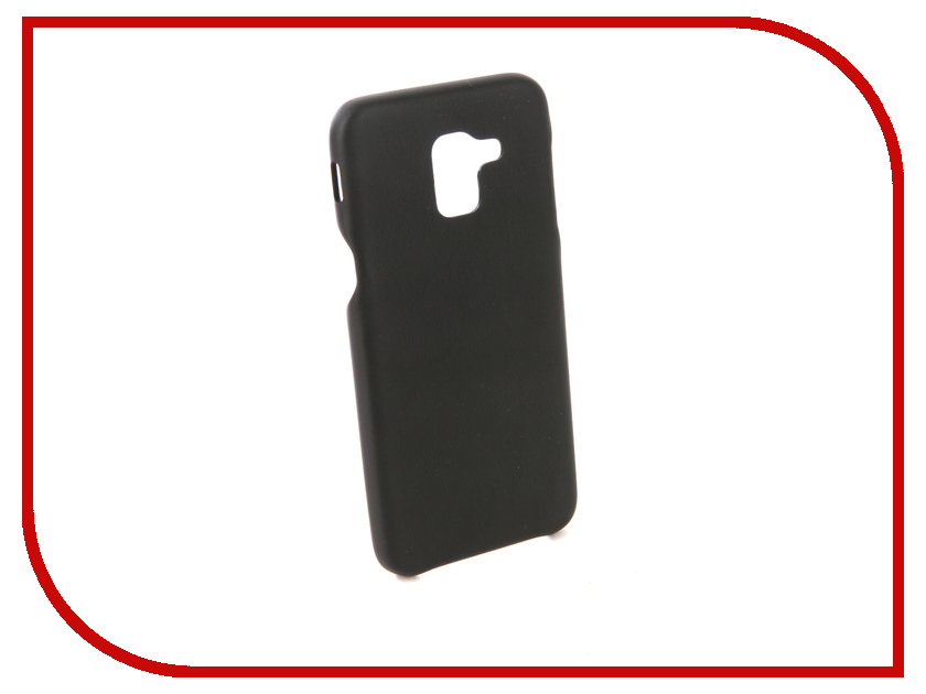 Аксессуар Чехол для Samsung Galaxy J6 2018 G-Case Slim Premium Black GG-961 канц эксмо записная книжка лисички орнамент в линейку 80 листов формат а6
