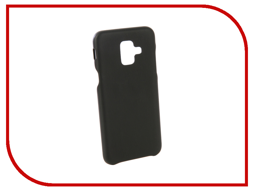 Аксессуар Чехол для Samsung Galaxy А6 Plus 2018 G-Case Slim Premium Black GG-965