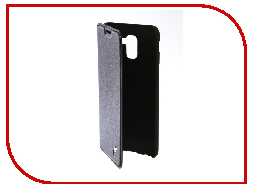 Аксессуар Чехол для Samsung Galaxy J6 2018 G-Case Slim Premium Black GG-959 аксессуар чехол для samsung galaxy s8 g case slim premium black gg 828