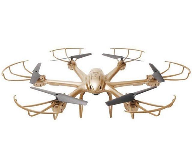 Квадрокоптер MJX X601H Gold
