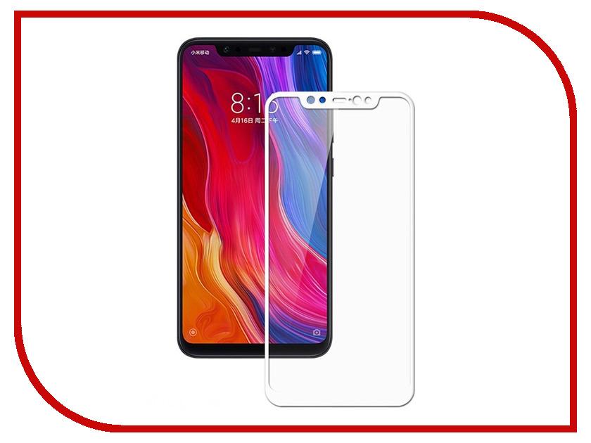 Аксессуар Защитное стекло для Xiaomi Mi8 Svekla Full Screen White ZS-SVXIMI8-WH аксессуар защитное стекло для xiaomi mi8 se svekla full screen blue zs svximi8se blue