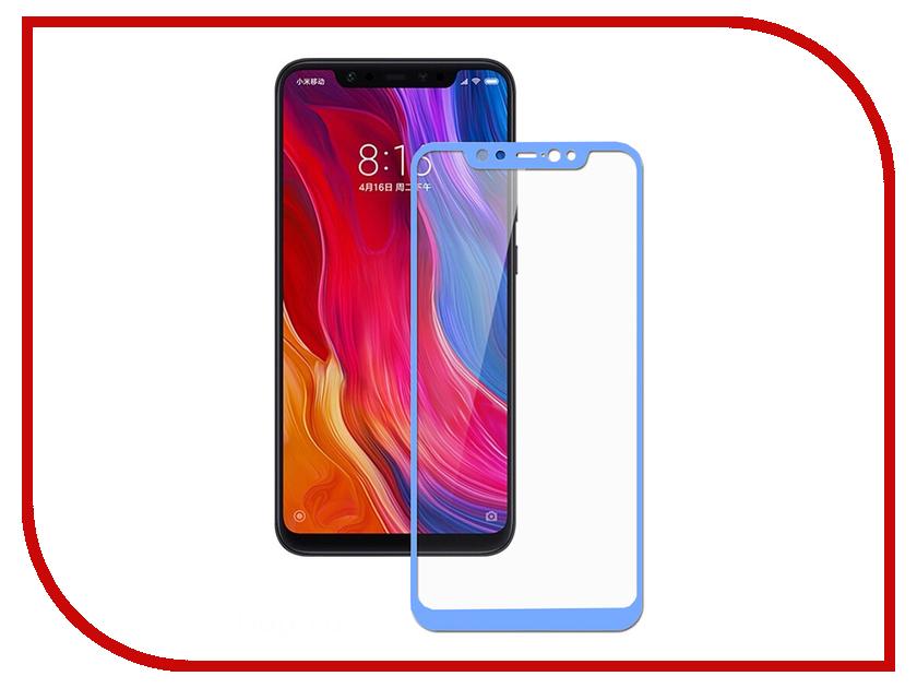 Аксессуар Защитное стекло для Xiaomi Mi8 SE Svekla Full Screen Blue ZS-SVXIMI8SE-BLUE аксессуар защитное стекло для nokia 3 1 2018 svekla full screen white zs svno32018 fswh