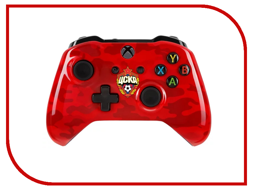 Геймпад Microsoft XBOX One ЦСКА Красно-армейский RBW-XB015 геймпад игра microsoft xbox one wireless controller gears of war ultimate edition