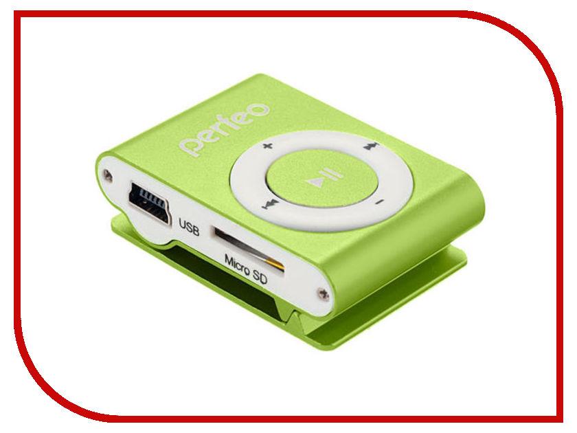 Плеер Perfeo Titanium Lite Green PF_A4145 плеер perfeo titanium lite green pf a4145