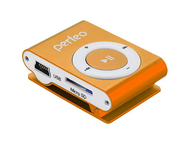 Плеер Perfeo Titanium Lite Orange PF_A4184