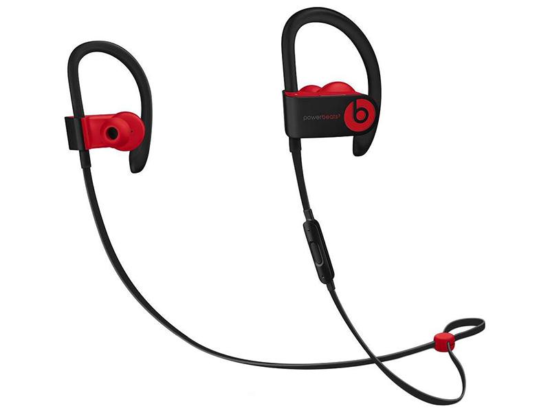 Beats Powerbeats3 Decade Collection Defiant Black-Red MRQ92ZE/A beats studio 3 wireless defiant black red mrq82ze a
