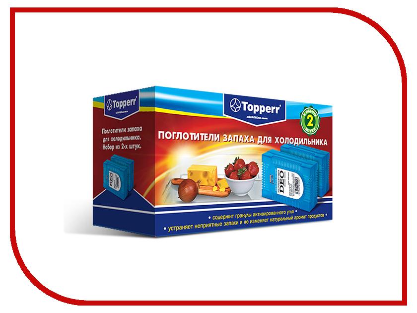 Аксессуар Поглотитель запаха для холодильников Topperr 3105 аксессуар поглотитель вибрации sony aka mva для action cam