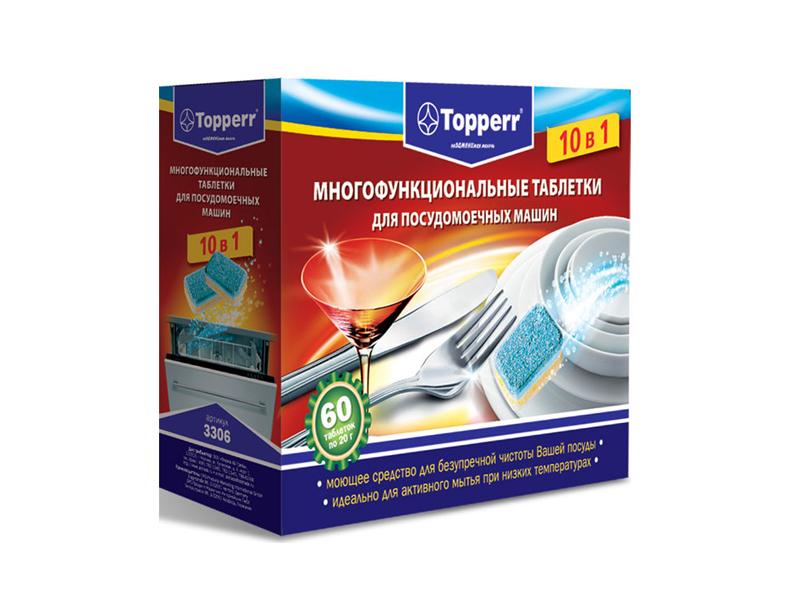Аксессуар Таблетки для посудомоечных машин Topperr 3306
