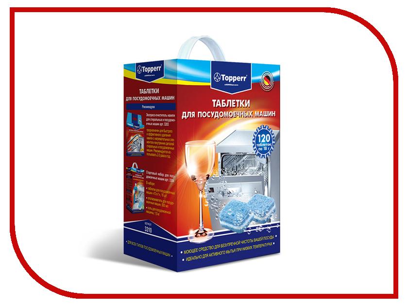 Аксессуар Таблетки для посудомоечных машин Topperr 3310 кеторол 10мг 20 таблетки